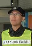 MRT security staff